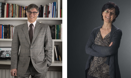 Andrea Meschia ed Elvira Casapollo